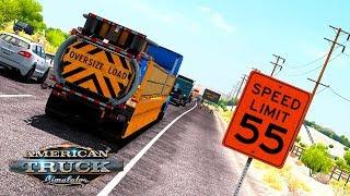 ЭТА ИГРА ХОЧЕТ УБИТЬ МЕНЯ! / Fresno (CA) - Tucson (AZ) | American Truck Simulator #7
