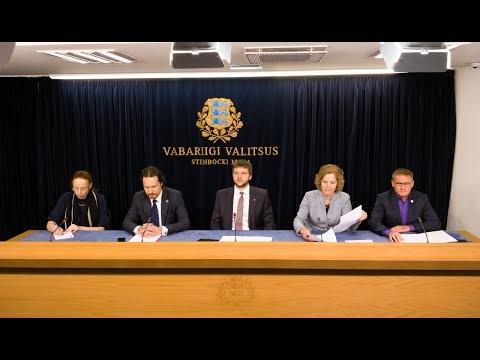 Valitsuse pressikonverents, 1. veebruar 2018