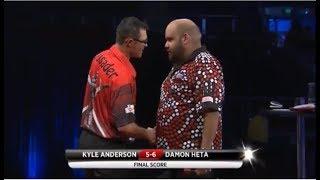 2018 Melbourne Darts Masters Round 1 K.Anderson vs Heta