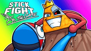 Stick Fight Funny Moments - Long Live the Dorito King!