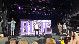 Blue - One Love - Canterbury - Spitfire Ground 09/06/2018 Resimi