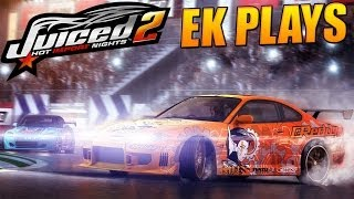 Juiced 2 - The Good Old Days Of Racing Games - EK Plays
