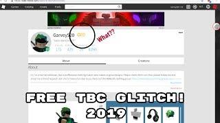 ROBLOX FREE TBC GLITCH! ((Jan 21, 2019)