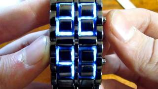 ЧУДО ПОСЫЛКА С ALIEXPRESS (часы) Blue Light LED Watch
