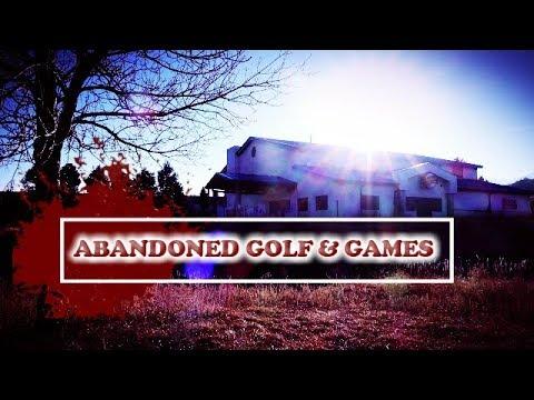 Urban Exploring - Abandoned Golf and Games Center, Colorado Springs