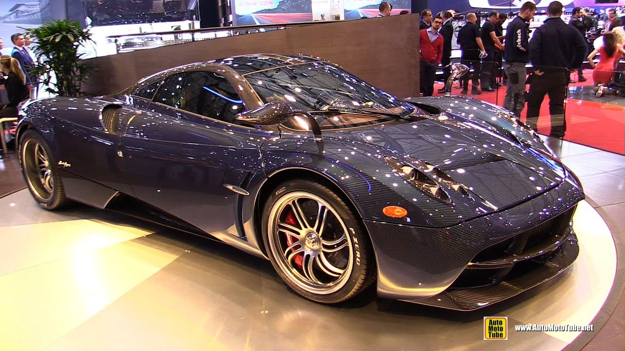 2015 Pagani Huayra Exterior And Interior Walkaround 2015 Geneva