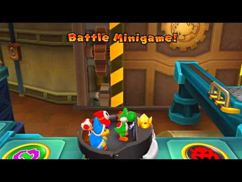 ABM: Mario Party 9: BombOmb Factory HD Gameplay