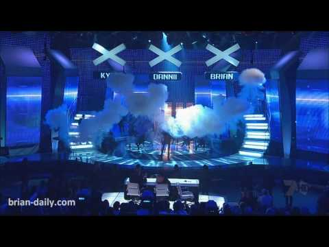 Chemical Rush - Brian McFadden - 'Australia's Got Talent' Grand Final (Live)
