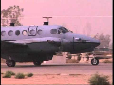 MC-12 aircraft flies its first combat sortie from joint Base Balad, Iraq
