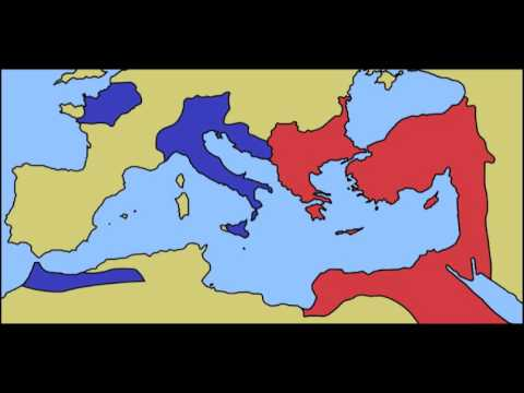 The Roman Empire's Collapse in the 5th century