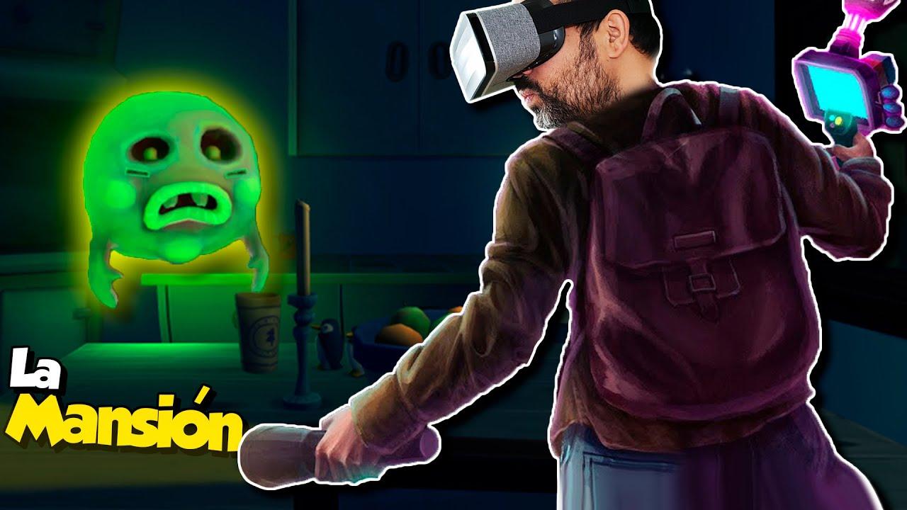 El Luigi's Mansion de Realidad Virtual | Spectro VR