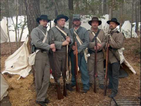 Civil War Reenacting - Confederate