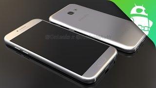 تسريبات جديدة تستعرض لنا تصميم الهاتف Galaxy A5 2017 من كافة الزوايا - إلكتروني