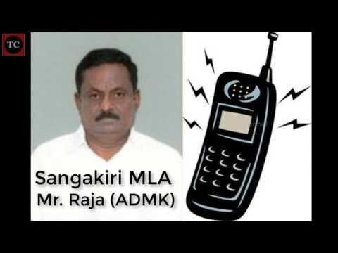 சங்ககிரி எம்எல்ஏ ராஜாவிடம் அவர் தொகுதியை சேர்ந்த நபர் பேசிய ஆடியோ! Sangakiri ADMK MLA Raja on Call
