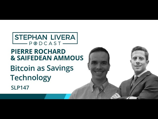 SLP147 Pierre Rochard & Saifedean Ammous – Bitcoin as Savings Technology & Number Go Up