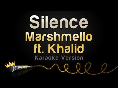 Marshmello ft. Khalid - Silence (Karaoke Version)