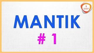 Mantık 1 | 9. Sınıf Mantık (yeni müfredat)