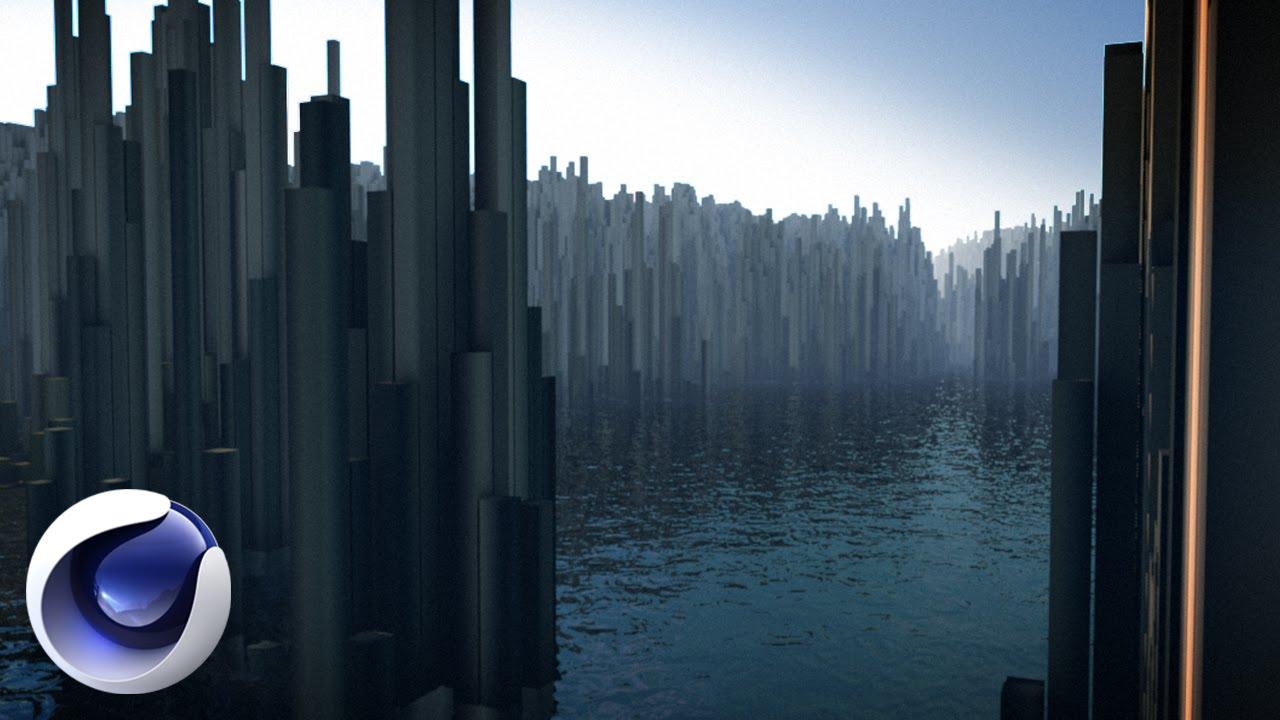 Эффектная 3D-композиция с использованием модуля Hair в Cinema 4D
