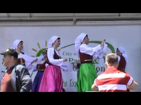 SF Fest. Of Culture: Bosnian Dance 1