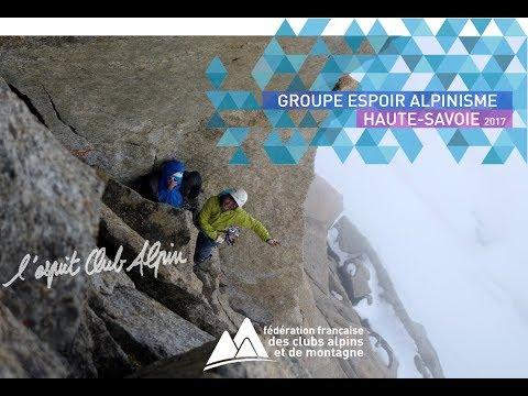 Groupe Espoir Alpinisme Haute Savoie 2018