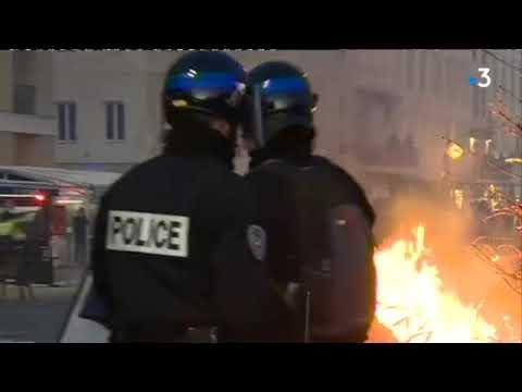 Marseille : échauffourées sur le Vieux-Port entre des manifestants et les forces de l'ordre