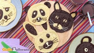 Animal Pancakes - Kid Friendly Recipes