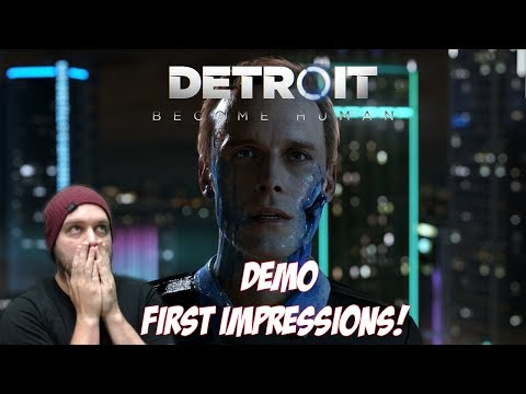 Can We Save The Little Girl? - Detroit: Become Human Demo [First Impressions]