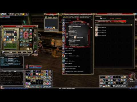 DDO - Tips for optimizing your Shared Crafting Storage Bank