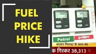 Petrol, diesel prices scale new peaks today