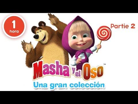 Masha y el Oso - Una gran colección de dibujos animados (Parte 2) 60 minutos para niños en Español