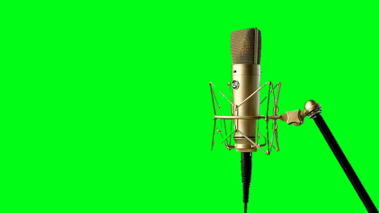 Free Green Screen Studio Microphone Top 4 Microphone Green Screen Video Youtube