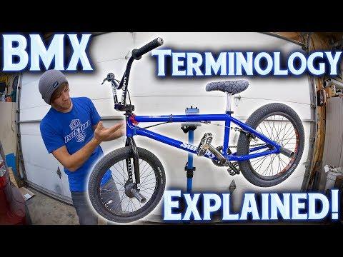 BMX Bike Part Names & Terminology - EXPLAINED