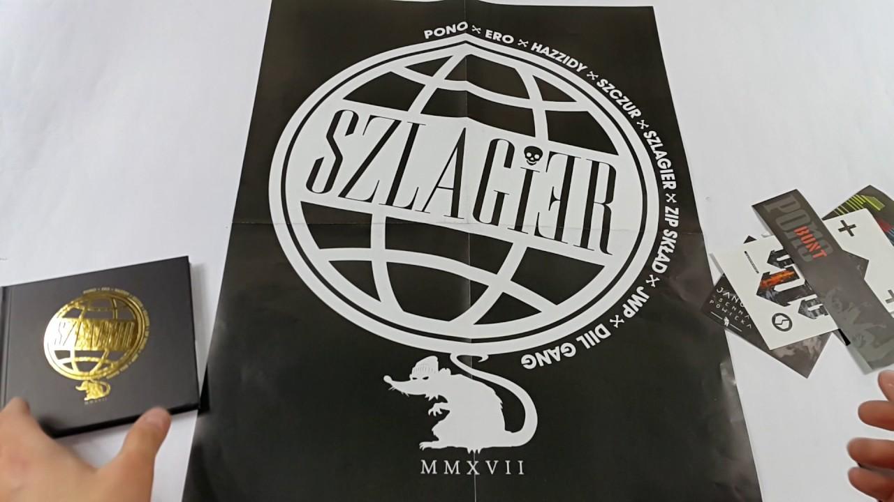 """Prezentacja płyty: PONO x ERO x HAZZIDY x SZCZUR """"SZLAGIER"""""""