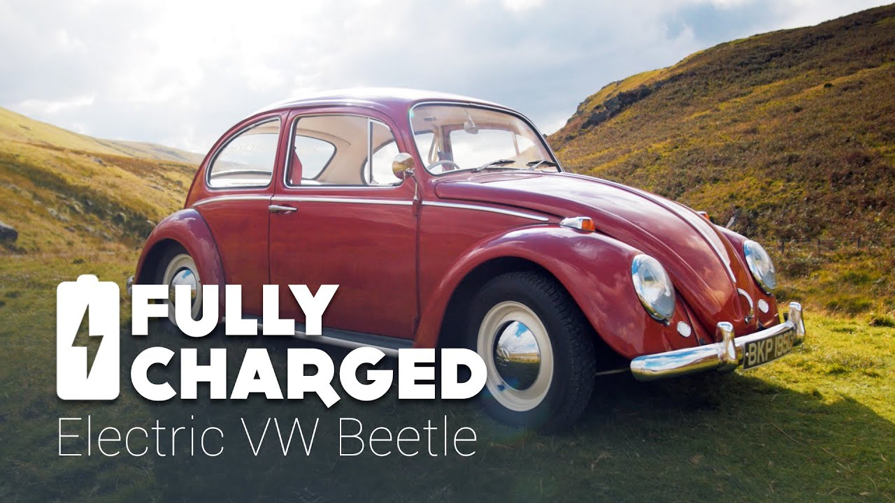 electric vw beetle fully charged youtube. Black Bedroom Furniture Sets. Home Design Ideas