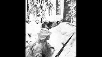 Talvisodan Suomalaissotavankien haastattelu