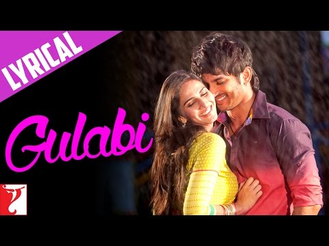 Lyrical: Gulabi Full Song with Lyrics | Shuddh Desi Romance | Sushant Singh | Vaani | Jaideep Sahni