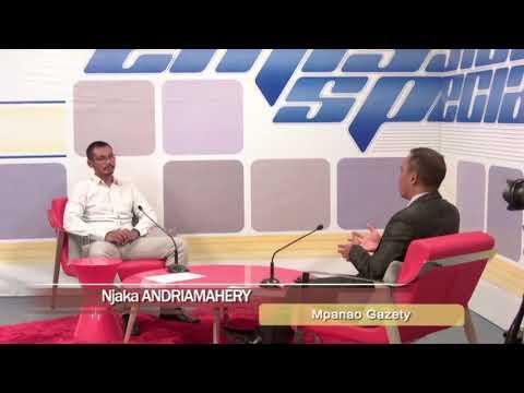 EMISSION SPÉCIALE DU 22 MAI 2018 Nirihaja RATSIMBAHARIMANANTSOA BY TV PLUS MADAGASCAR