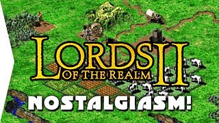 Lords of the Realm 2 ► Intro & Some Nostalgic Gameplay! - [Nostalgiasm]