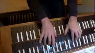 """Little"" Fugue in G-Minor, Pedal Harpsichord, by J.S. Bach BWV 578, Paul Anderson"