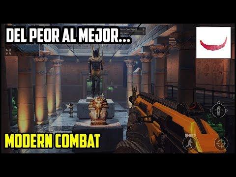 Del Peor al Mejor: Modern Combat FT.Xsequias