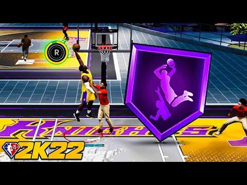 The POWER of HOF POSTERIZER in NBA 2K22...