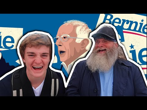 Interviewing CRAZY Bernie Sanders Fans at Rally | Super Tuesday