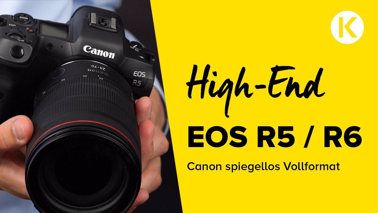 Neues Highlight der Canon Spiegellosen! | EOS R5 und R6 | Foto Koch