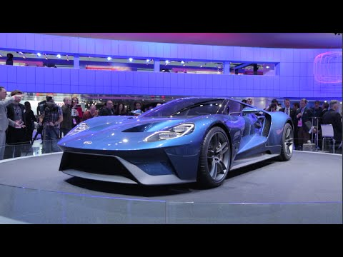 2017 ford gt 2015 detroit auto show - 2015 Ford Gt Auto Show