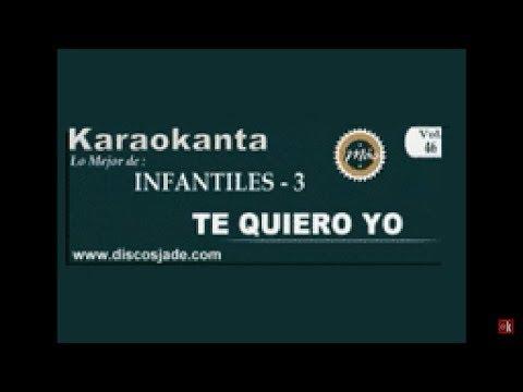 Karaokanta - Barney - Te quiero yo