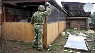 видео Фундамент для навеса СПб. Фундамент под навес