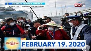 Balitanghali Express: February 19, 2020 [HD]