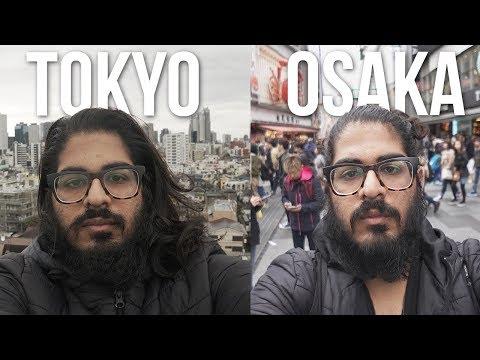 OSAKA VS TOKYO! - Is Osaka better than Tokyo? Japan