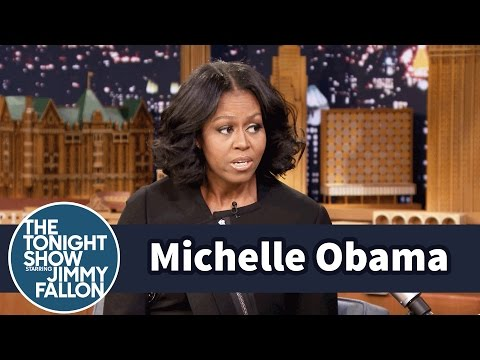 First Lady Michelle Obama Gets Emotional...