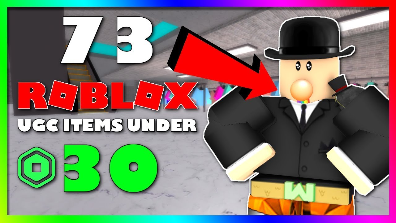 73 Roblox Ugc Items Under 30 Robux Youtube